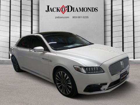 New 2018 Lincoln Continental Reserve with Navigation