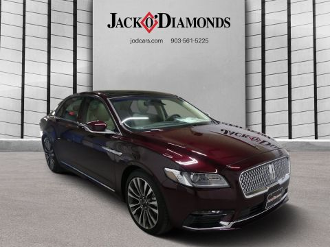New 2018 Lincoln Continental Select FWD 4dr Car