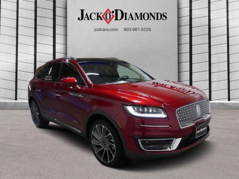 New 2019 Lincoln Nautilus Reserve with Navigation